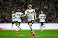 Matthias Ginter (Borussia Monchengladbach) of Germany during the International Friendly match between England and Germany at Wembley Stadium, London, England on 10 November 2017. Photo by Andy Rowland.