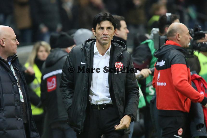 Sportmanager Bruno Hübner (Eintracht) - Eintracht Frankfurt vs. SV Werder Bremen, Commerzbank Arena