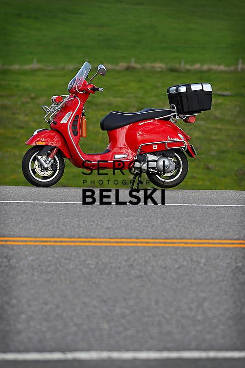 My Vespa Adventures. Mandatory credit: Sergei Belski