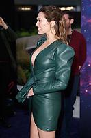 Elizabeth Olsen arriving for the &quot;Avengers: Infinity War&quot; fan event at the London Television Studios, London, UK. <br /> 08 April  2018<br /> Picture: Steve Vas/Featureflash/SilverHub 0208 004 5359 sales@silverhubmedia.com