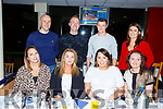 McCarthy Insurance Group Tralee enjoying the night out at the Kingdom Greyhound Track on Friday night.  <br /> Seated l-r, Laura Cunningham, Aisling McMahon, Karen Kearney and Siobhan Flynn.<br /> Back l-r, Mark Noonan, Kevin Sugrue, Mike Leen and Lorraine Griffin.