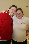 Swimmers Brid Heeney and Leonie Sarsfield at the Launch of the Special Olympics Team...Photo NEWSFILE/Jenny Matthews.(Photo credit should read Jenny Matthews/NEWSFILE)....This Picture has been sent you under the condtions enclosed by:.Newsfile Ltd..The Studio,.Millmount Abbey,.Drogheda,.Co Meath..Ireland..Tel: +353(0)41-9871240.Fax: +353(0)41-9871260.GSM: +353(0)86-2500958.email: pictures@newsfile.ie.www.newsfile.ie.FTP: 193.120.102.198.