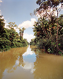 Brazil, Belem, South America, Furo De Cambu, a small tributary feeds into the Amazon River