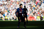 Lionel Andres Messi of FC Barcelona looks on during the La Liga 2017-18 match between Real Madrid and FC Barcelona at Santiago Bernabeu Stadium on December 23 2017 in Madrid, Spain. Photo by Diego Gonzalez / Power Sport Images