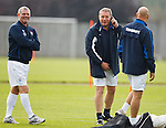 Ally McCoist and Ian Durrant laughing together