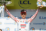 Tim Wellens (BEL) Lotto-Soudal retains the mountains Polka Dot Jersey at the end of Stage 13 of the 2019 Tour de France an individual time trial running 27.2km from Pau to Pau, France. 19th July 2019.<br /> Picture: Colin Flockton | Cyclefile<br /> All photos usage must carry mandatory copyright credit (© Cyclefile | Colin Flockton)