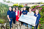 The Ploughmans Bar in Abbeyfeale organised a Charity Darts Tournament and raised €3140.00 for Recovery Haven.  Liam Wrenn and Mairead Smith presented the cheque to Maureen O'Brien (Recovery haven) with Steve Smith, Shannon Smith, Philomena Stack (Recovery Haven) and Siobhan McSweeney (Recovery Haven)