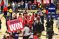 Washington, DC - September 2 2018: The Washington Mystics win and even the series 2-2 and force a deciding game 5 in Atlanta with a 97-76 win at the Charles Smith Center at George Washington University in Washington, DC. (Photo by Phil Peters/Media Images International)