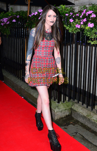 Letty Bishop attends the Scottish Fashion Awards 2014, 8 Northumberland Avenue, Northumberland Avenue, on Monday September 01, 2014 in London, England, UK. <br /> CAP/JOR<br /> &copy;Nils Jorgensen/Capital Pictures