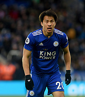 Leicester City's Shinji Okazaki<br /> <br /> Photographer Hannah Fountain/CameraSport<br /> <br /> The Premier League - Leicester City v Manchester United - Sunday 3rd February 2019 - King Power Stadium - Leicester<br /> <br /> World Copyright © 2019 CameraSport. All rights reserved. 43 Linden Ave. Countesthorpe. Leicester. England. LE8 5PG - Tel: +44 (0) 116 277 4147 - admin@camerasport.com - www.camerasport.com