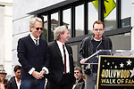 LOS ANGELES - FEB 6: Gerry Beckley; Dewey Bunnell; Billy Bob Thornton at a ceremony where rock band 'America' in honored with a star on the Hollywood Walk of Fame in Los Angeles, California