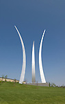 Washington DC; USA: The Air Force Memorial in Arlington, Virginia.Photo copyright Lee Foster Photo # 33-washdc80067
