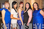 Pictured at the Lee Strand Social on Saturday night held In Ballygarry House Hotel and Spa were l-r: Siobhan Sheehy (Ballyheigue) Colette Casey (Ballyheigue) Annemarie Dineen (Ballyheigue) Paula O'Sullivan (Ballyheigue) and Lucy Godley (Ballyheigue).