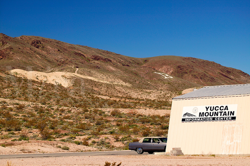 Yucca Mountain Information Center, Beatty, California