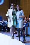 Ainhoa Arteta and Edurne Pasaban during the 6th edition of the collecting badges to the new ambassadors fees &quot;Marca Espa&ntilde;a&quot; in his 6th edition at BBVA City in Madrid, November 12, 2015.<br /> (ALTERPHOTOS/BorjaB.Hojas)