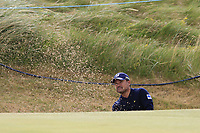 Yusaku Miyazato (JPN) chips from a bunker at the 13th green during Thursday's Round 1 of the 2018 Dubai Duty Free Irish Open, held at Ballyliffin Golf Club, Ireland. 5th July 2018.<br /> Picture: Eoin Clarke | Golffile<br /> <br /> <br /> All photos usage must carry mandatory copyright credit (&copy; Golffile | Eoin Clarke)