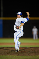 Dunedin Blue Jays relief pitcher Andrew Case (37) delivers a pitch during a game against the St. Lucie Mets on April 20, 2017 at Florida Auto Exchange Stadium in Dunedin, Florida.  Dunedin defeated St. Lucie 6-4.  (Mike Janes/Four Seam Images)