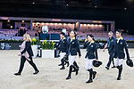 Walk the Course prior to the HKJC Junior Trophy during the Longines Masters of Hong Kong at AsiaWorld-Expo on 11 February 2018, in Hong Kong, Hong Kong. Photo by Diego Gonzalez / Power Sport Images