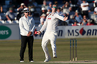 Simon Harmer in bowling action for Essex during Essex CCC vs Somerset CCC, Specsavers County Championship Division 1 Cricket at The Cloudfm County Ground on 26th June 2018