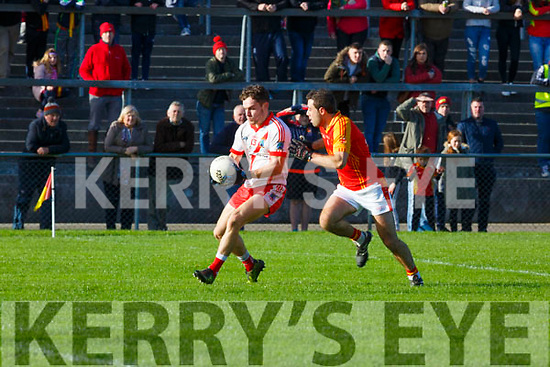 Tomas O'Se An Ghaeltacht skips past Bill Myers Mallow during the Munster Intermediate Championship semi final in Mallow on Sunday
