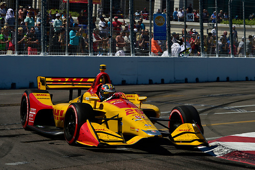 2018 Verizon IndyCar Series - Firestone Grand Prix of St. Petersburg<br /> St. Petersburg, FL USA<br /> Sunday 11 March 2018<br /> Ryan Hunter-Reay, Andretti Autosport Honda<br /> World Copyright: Scott R LePage / LAT Images<br /> ref: Digital Image _SRL6234