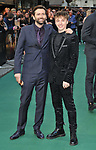 """David Tennant and Ty Tennant at the """"Tolkien"""" UK film premiere, Curzon Mayfair, Curzon Street, London, England, UK, on Monday 29th April 2019. <br /> <br /> CAP/CAN<br /> ©CAN/Capital Pictures"""