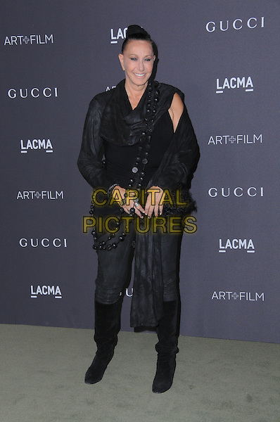 29 October 2016 - Los Angeles, California. Donna Karan. 2016 LACMA Art+Film Gala honoring Robert Irwin and Kathryn Bigelow presented by Gucci held at LACMA.   <br /> CAP/ADM/BT<br /> &copy;BT/ADM/Capital Pictures
