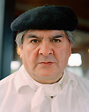 ARGENTINA, Patagonia, portrait of a chef at Llao Llao Hotel