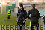 Eamonn Fitzmaurice Kerry Manager. Kerry v Limerick in the Final of the McGrath Cup at the Gaelic Grounds on Sunday.