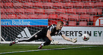 Jake Eastwood of Sheffield Utd in action during the PDL U21 Final at Bramall Lane Sheffield. Photo credit should read: Simon Bellis/Sportimage