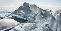 South ridge of Mount Tasman, 3,497m second highest NZ mountain, Westland Tai Poutini National Park, West Coast, UNESCO World Heritage Area, New Zealand, NZ