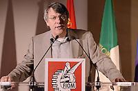 Roma, 9 Giugno 2012.Hotel Parco dei Principi.La Fiom incontra partiti e movimenti politici.Maurizio Landini, segretario FIOM-CGIL.