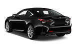 Car pictures of rear three quarter view of a 2019 Lexus RC RC 300h Executive 2 Door Coupe angular rear