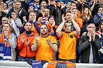 19.09.2019 Rangers v Feyenoord: Rangers fans applause on the 2nd minute for Fernando Ricksen