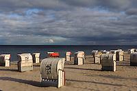 Strand von Dahme, Schleswig-Holstein, Deutschland