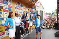 MEDELLIN - COLOMBIA, 17-02-2019:Nairo Quintana ganador de la sexta etapa del Tour Colombia 2.1 2019 con un recorrido de 173.8 Km, que se corrió con salida en El Retiro  y llegada en Las Palmas, Antioquia. / Nairo Quintana, winner of the sixth stage of the Tour Colombia 2.1 2019 during the sixth stage of 173.8 km of Tour Colombia 2.1 2019 that ran in El Retiro with start and arrival in Las Palmas, Antioquia.  Photo: VizzorImage / Eder Garces / Fedeciclismo Prensa / Cont