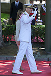 Spanish Royals Prince Felipe of Spain and Princess Letizia of Spain attend 2014 Spain Armed Forces Day in Madrid, Spain. June 08, 2013. (ALTERPHOTOS/Victor Blanco)