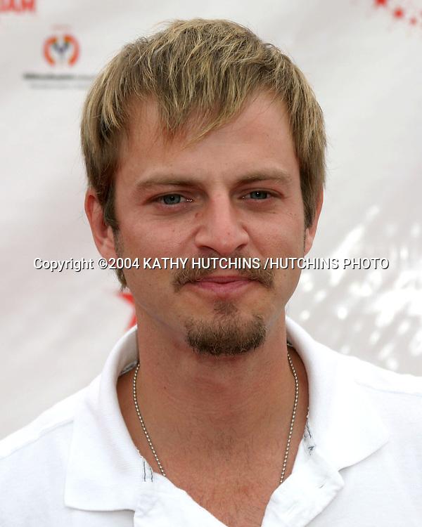 ©2004 KATHY HUTCHINS /HUTCHINS PHOTO.ALL STAR FAMILY SPORTS JAM.SANTA MONICA, CA.JUNE 19, 2004..CARMINE GLOVINAZZO.CSI NEW YORK