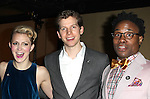 Annaleigh Ashford, Stark Sands & Billy Porter attending the 2013 Tony Awards Meet The Nominees Junket  at the Millennium Broadway Hotel in New York on 5/1/2013...