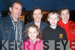 Family for Fleadh: Enjoying the traditional music entertainment in the Square, Abbeyfeale, at Fleadh by the Feale on Saturday evening were Mairead, Annette, John, Bridget and Owen Lordan, Dromcollogher..