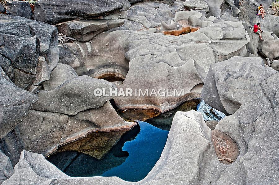 Vale da Lua na Chapada dos Veadeiros. Alto Paraíso de Goias. Goias. Foto de Sergio Amaral.