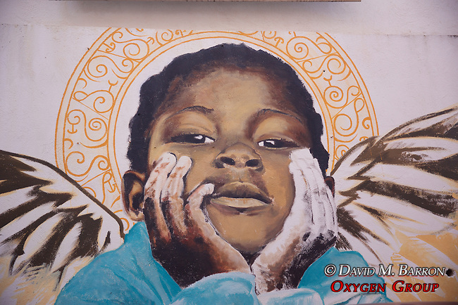 Boy Angel, Wall Art, Punda