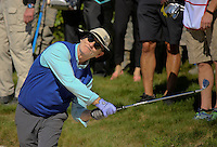 160210 Fan favorite Bill Murray during the Wednesday Shootout at The AT&T National Pro Am at The Pebble Beach Golf Links in Monterey, California. (photo credit : kenneth e. dennis/kendennisphoto.com)