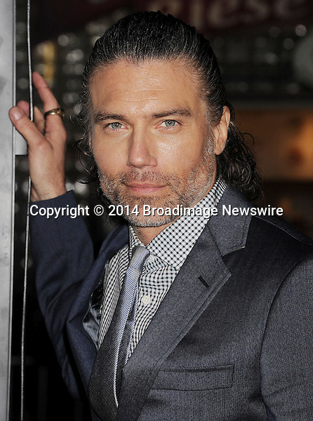 Pictured: Anson Mount<br /> Mandatory Credit &copy; Joseph Gotfriedy/Broadimage<br /> &quot;Non-Stop&quot; - Los Angeles Premiere<br /> <br /> 2/24/14, Westwood, California, United States of America<br /> <br /> Broadimage Newswire<br /> Los Angeles 1+  (310) 301-1027<br /> New York      1+  (646) 827-9134<br /> sales@broadimage.com<br /> http://www.broadimage.com