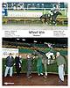 Wheel Win winning at Delaware Park on 11/3/06