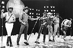 Village People 1979 Ray Simpson, Randy Jones, Glenn Hughes, David Hodo, Alex Briley.Midnight Special TV Show.© Chris Walter.