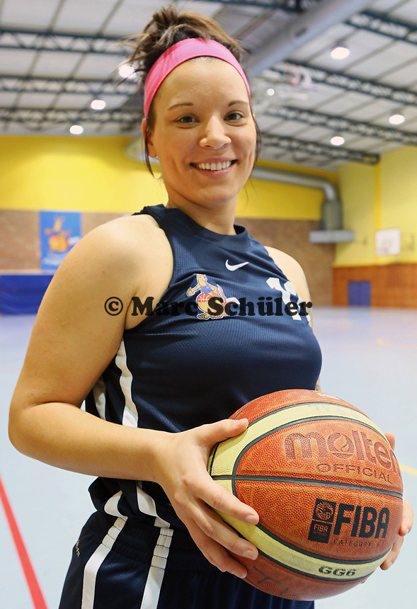 Neuzugang Vanessa Ducaine von Basketball-Oberligist TV Groß-Gerau - Gross-Gerau 13.12.2017: TV Groß-Gerau