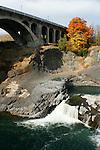 Spokane Falls and the Monroe street Bridge