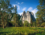 Cathedral Spires in Yosemite National Park, California, .  John offers private photo tours throughout the western USA, especially Colorado. Year-round.