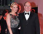 "PRINCESS CHARLENE AND PRINCE ALBERT.attend the Monaco Formula One Grand Prix Gala Dinner at Sporting Monaco, Monte Carlo_May 27, 2012.Mandatory Credit Photos: ©NEWSPIX INTERNATIONAL..**ALL FEES PAYABLE TO: ""NEWSPIX INTERNATIONAL""**..PHOTO CREDIT MANDATORY!!: NEWSPIX INTERNATIONAL(Failure to credit will incur a surcharge of 100% of reproduction fees)..IMMEDIATE CONFIRMATION OF USAGE REQUIRED:.Newspix International, 31 Chinnery Hill, Bishop's Stortford, ENGLAND CM23 3PS.Tel:+441279 324672  ; Fax: +441279656877.Mobile:  0777568 1153.e-mail: info@newspixinternational.co.uk"